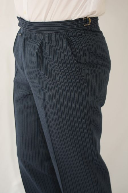 Mens Striped Morning Trousers
