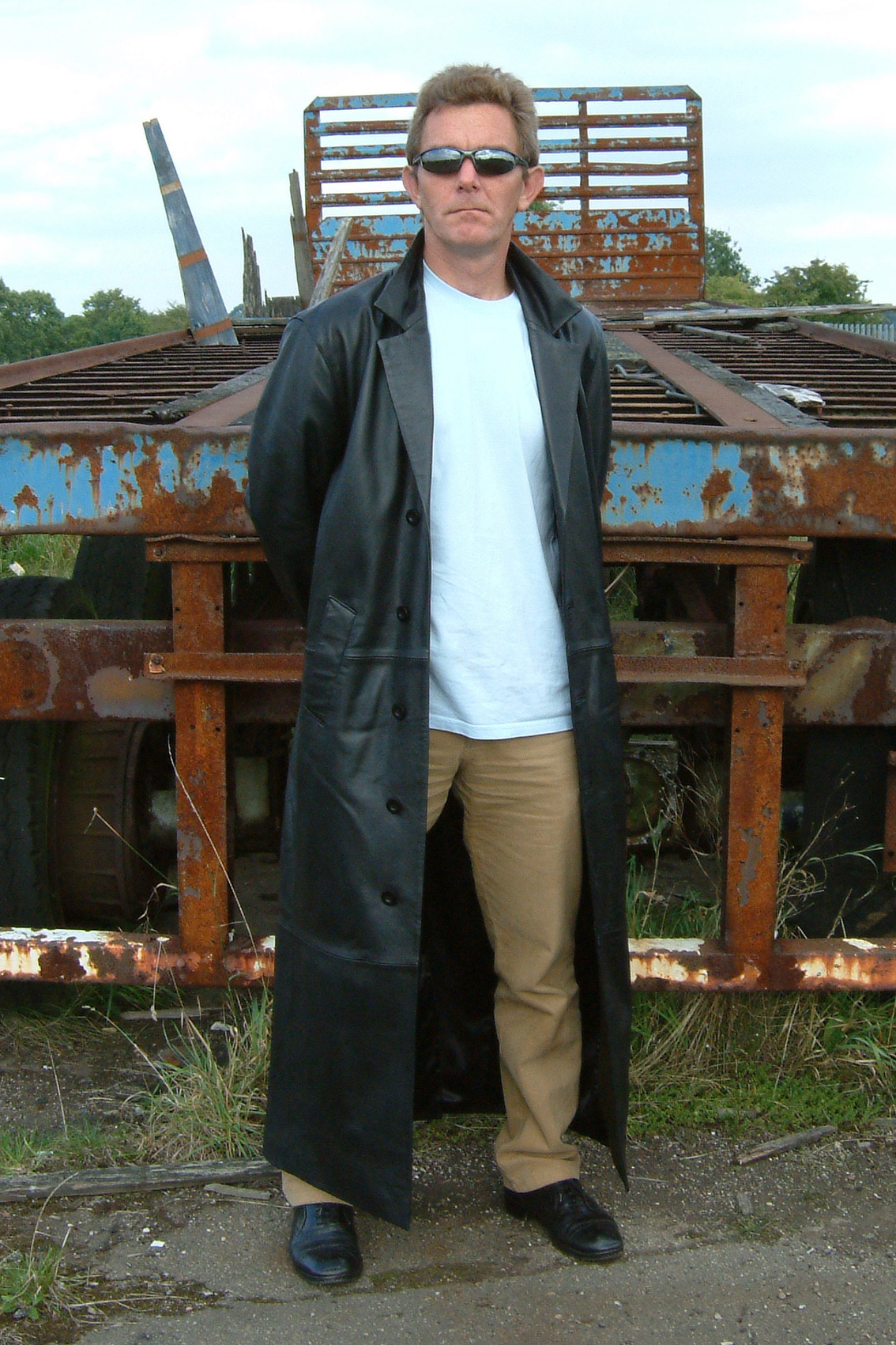 Cole Kennedy Full Length Raincoat Men - christonium.com - create