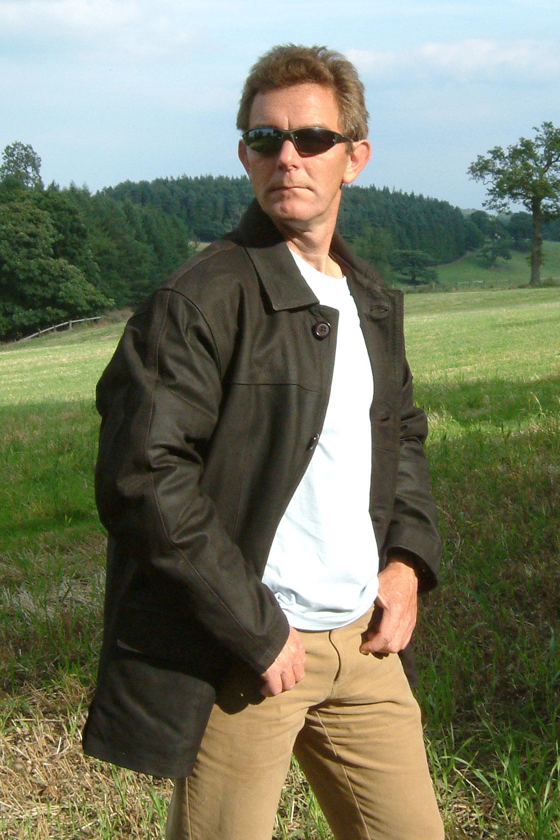 Black Leather Biker Jacket For Men Wallpaper Hd