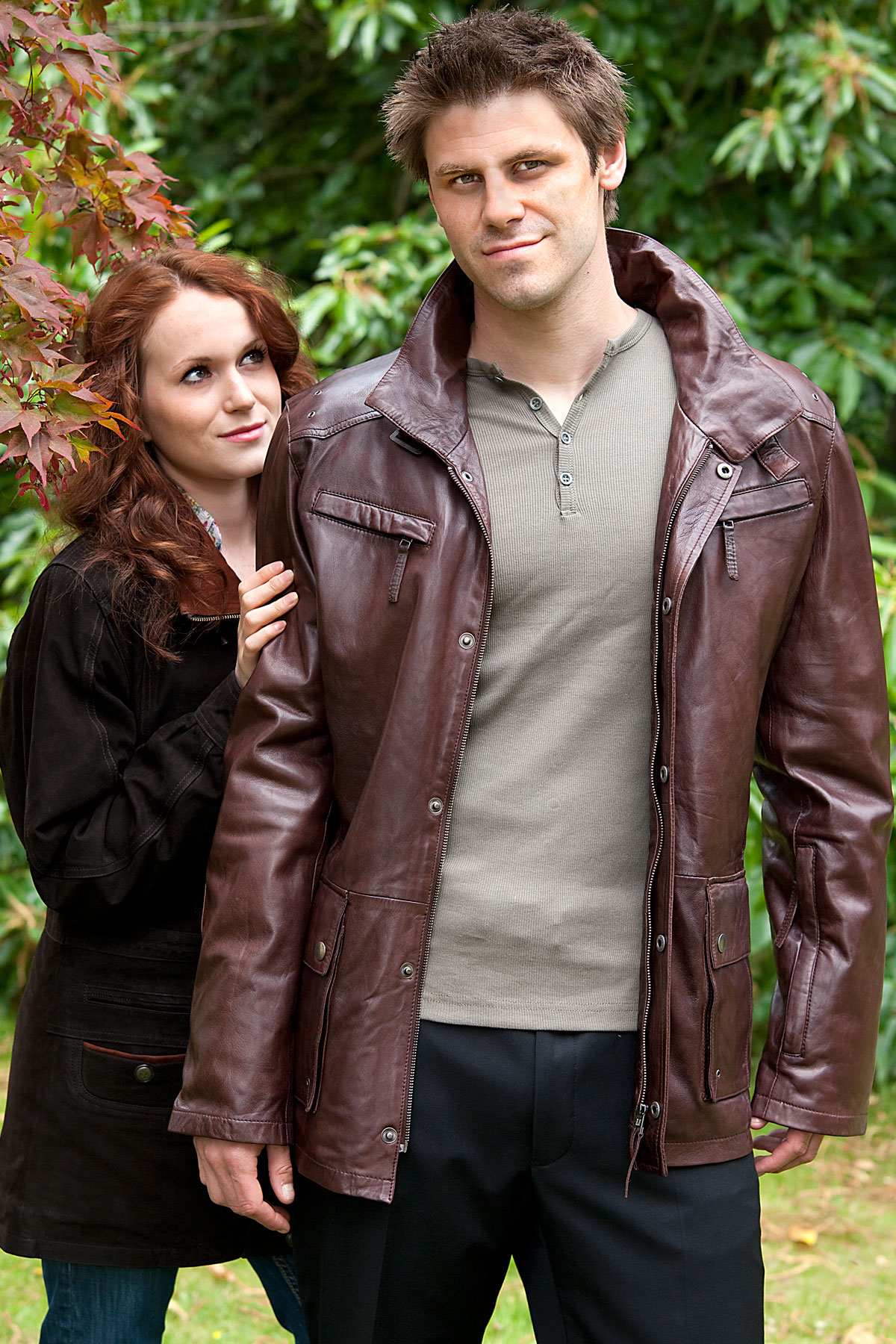 Leather Coats - mens leather. softest Nappa.
