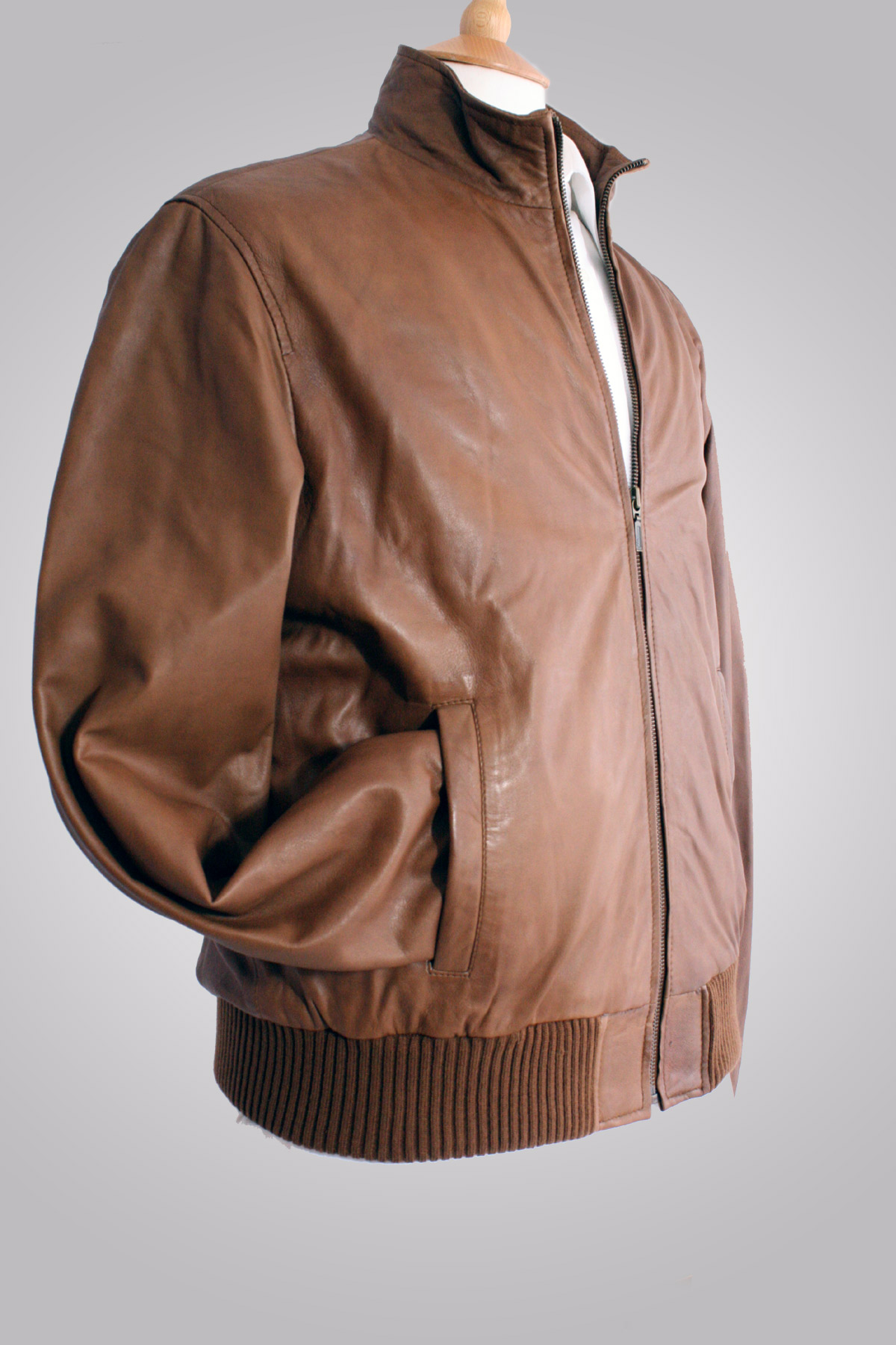 Mens Leather Bomber Jacket | Jacket Designs Pictures