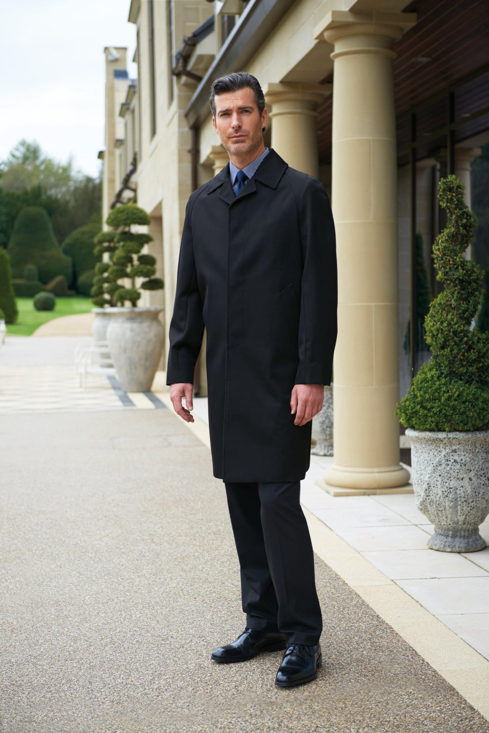 Mens Whipcord Raincoat