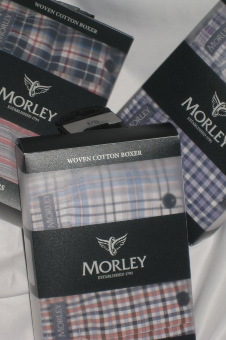 2 Pair Pack Morley Boxer Shorts
