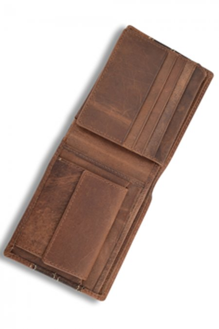 A hard wearing bi-fold leather Wallet