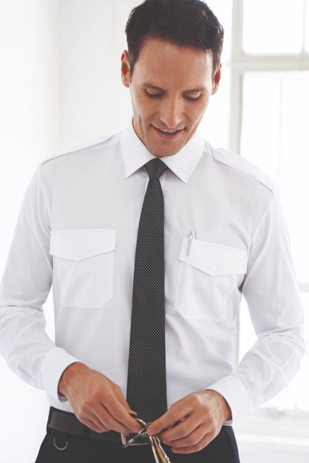 Ares Slim Fit Pilot Shirt