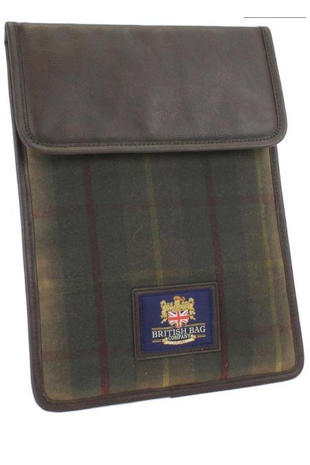 Millerain Waxed Tweed I-Pad Case