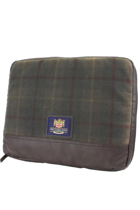 Millerain Waxed Tweed Laptop Sleeve Case