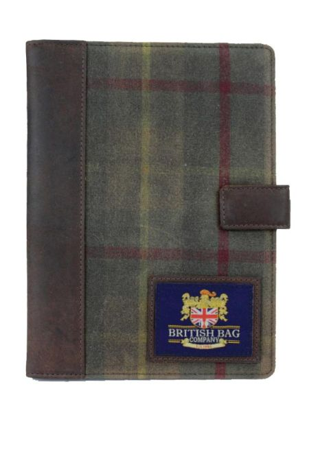 Millerain Waxed Tweed Tablet Sleeve Case