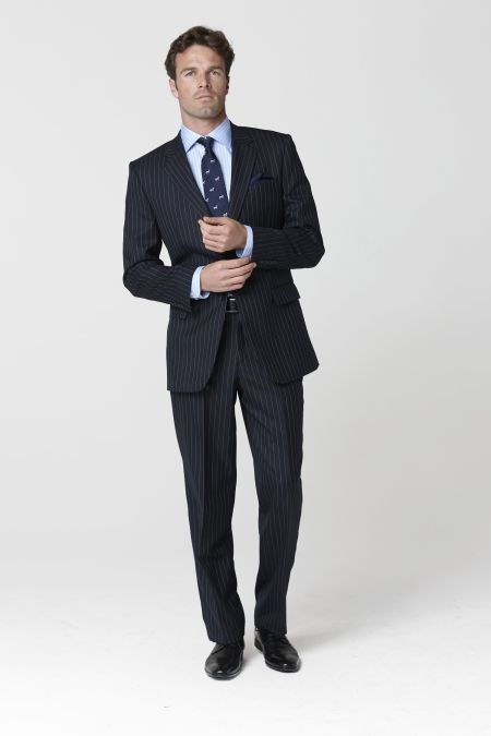 Epsom Single Breasted Suit - business suits for men