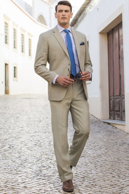 Summer Suit - Plus size mens suits