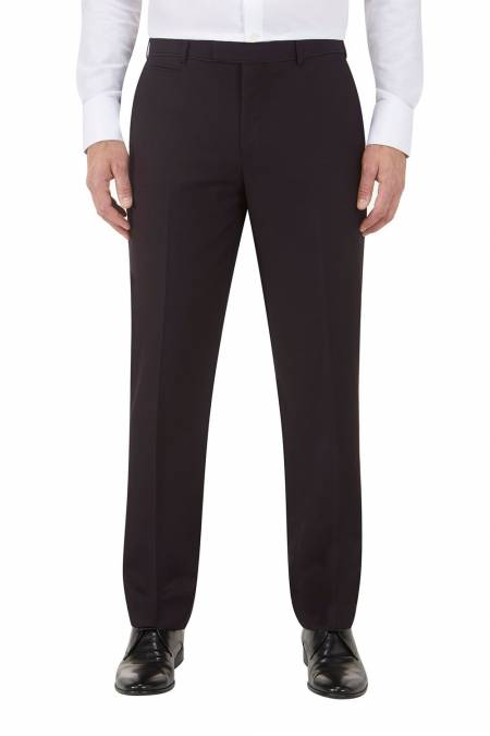 Bruno Dinner Suit Flat Front Tailored Fit Trouser