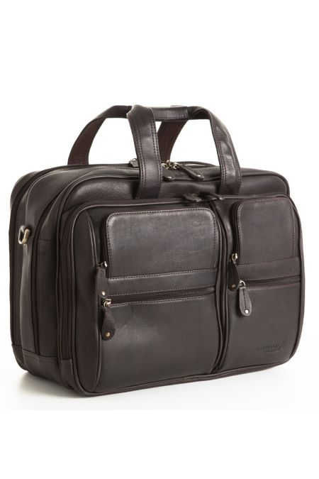 Business Leather Travel bag