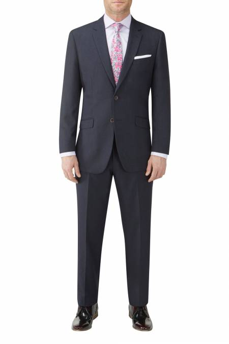 Skopes Chievo Navy Suit Jacket - Big mens suits