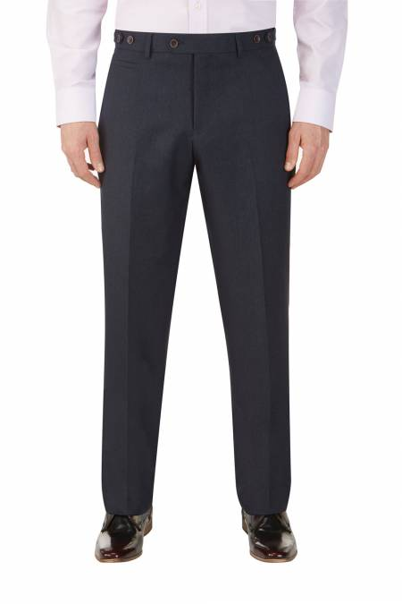 Chievo Navy Suit Trouser
