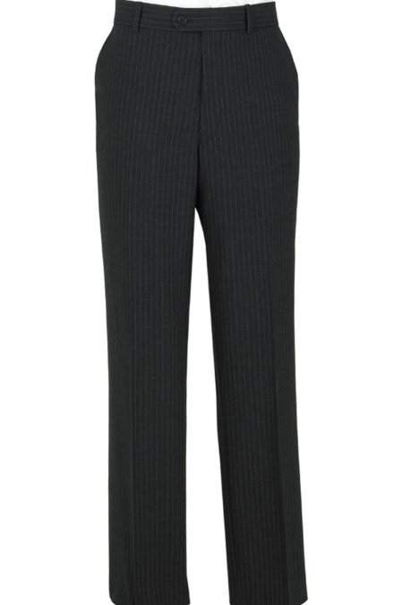 Classic Fit Plain Front Suit Trousers by Scott