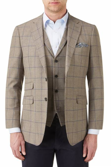 Country Check Bevington Tailored Jacket