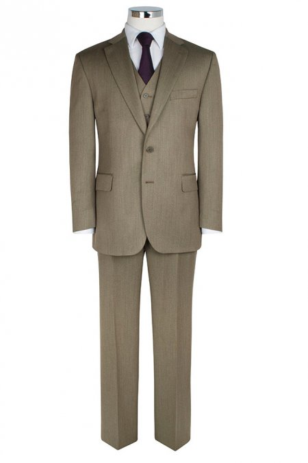 Country Twill 2 piece Suit by The Label - Big mens suits