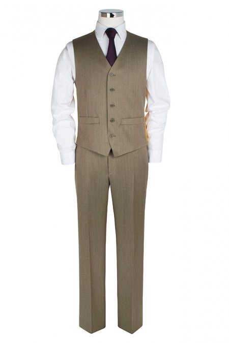Country Twill Waistcoat by The Label