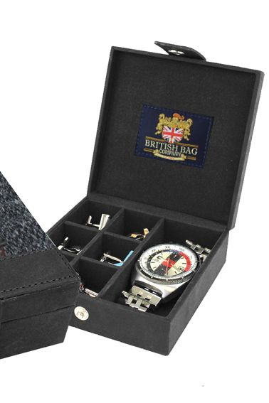 Cufflink and Watch box