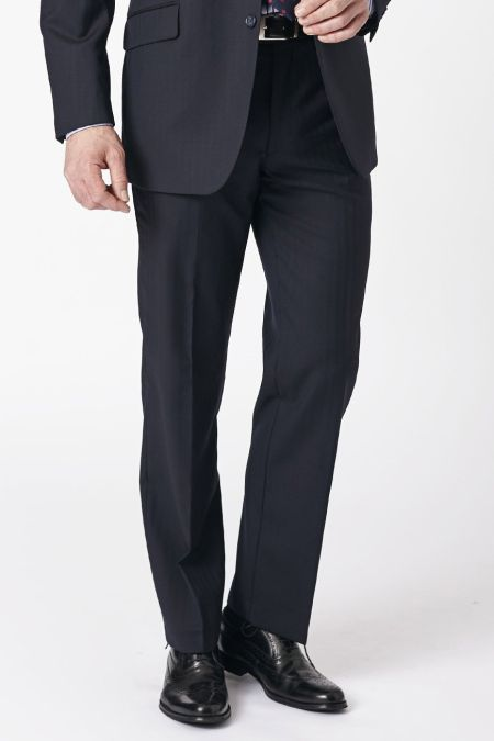 Dawlish Plain Fronted Suit Trousers