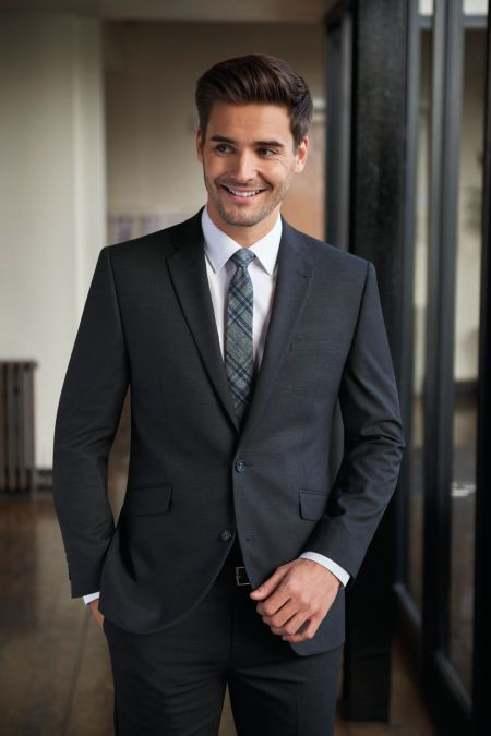 Today Collection Tailored Fit Suit in 3 colours - Plus size mens suits