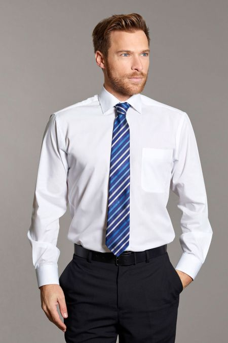 Disley Cutaway Collar Long Sleeve Shirt