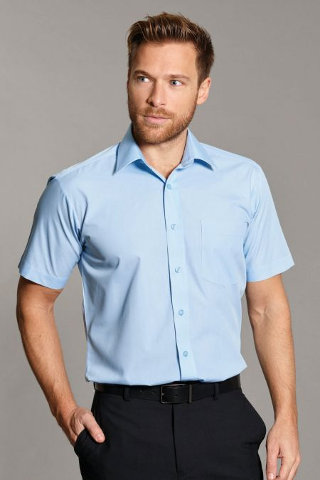 Disley Larne Plain Short Sleeve Shirts