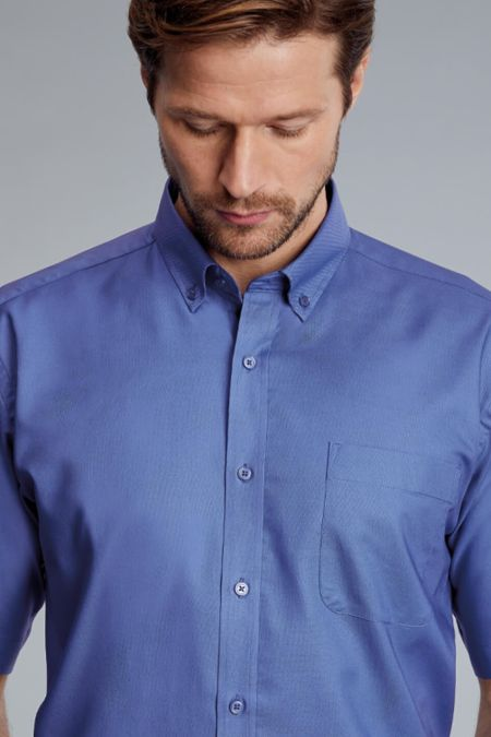 Disley Short sleeve Bruff Oxford shirt