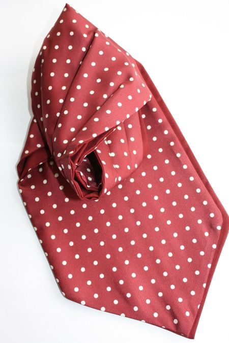 Fine Silk Spotted Cravats