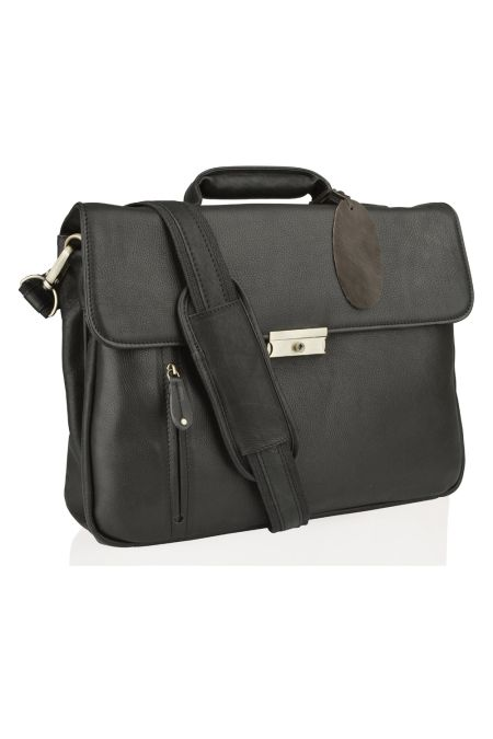 Full grain Colombian Leather Briefcase