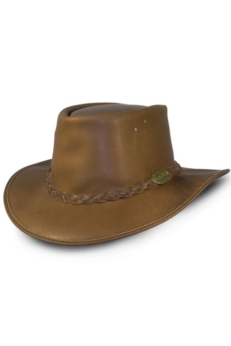Full Grain Leather Hat