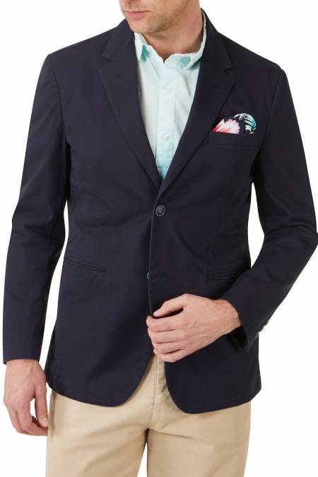Ganesh Tailored Fit  Cotton Jacket