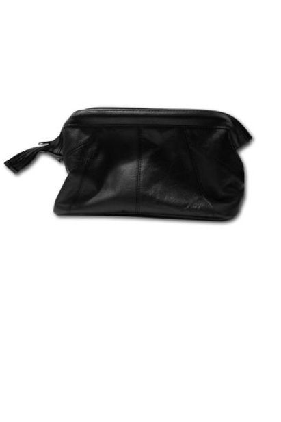 Gladstone Leather Washbag