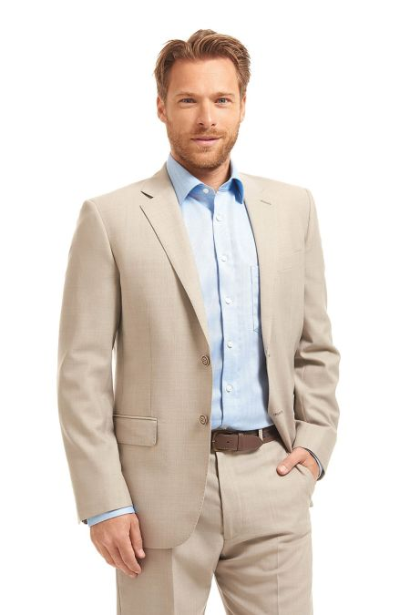 Gurteen Estoril Melange summer suit jacket