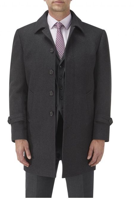 Hendon Wool Blend Overcoat