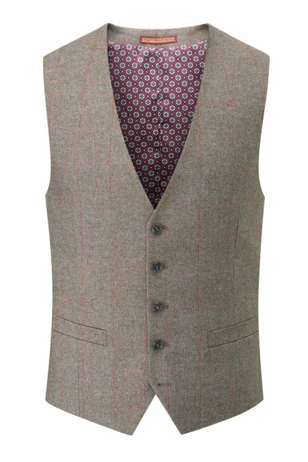 Heritage Collection Burns 5 button fastening Waistcoat
