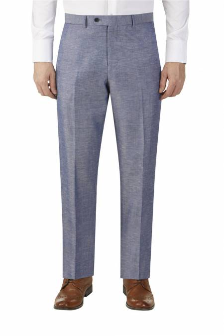 Heritage Collection Carlo Linen Blend Suit Trouser