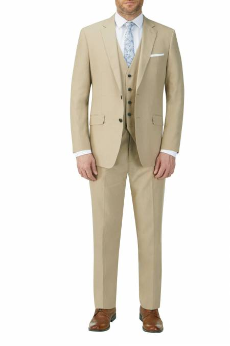 Heritage Collection Morant Linen Blend Suit - business suits for men