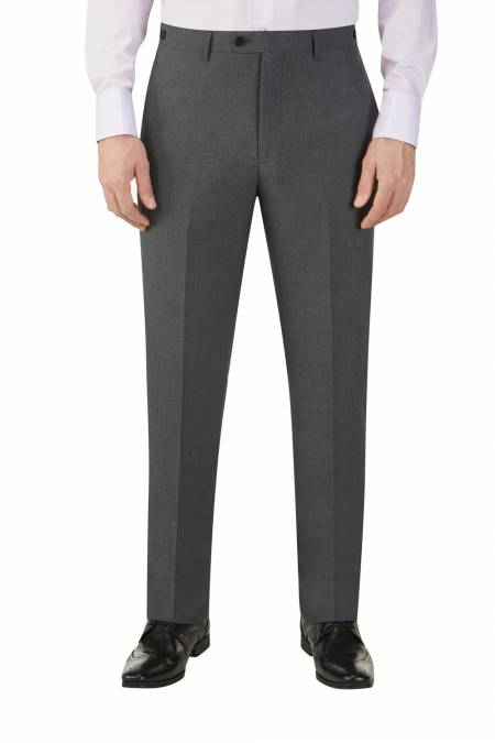 Hinchcliffe Tailored Fit Charcoal Suit Trouser