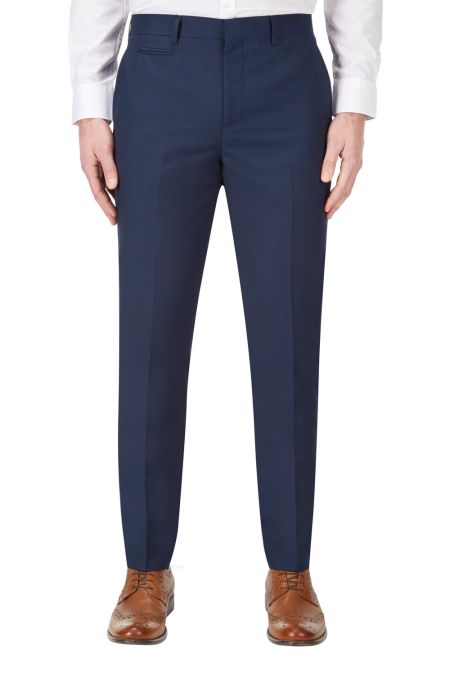 Kennedy Slim fit Suit trousers Royal Blue