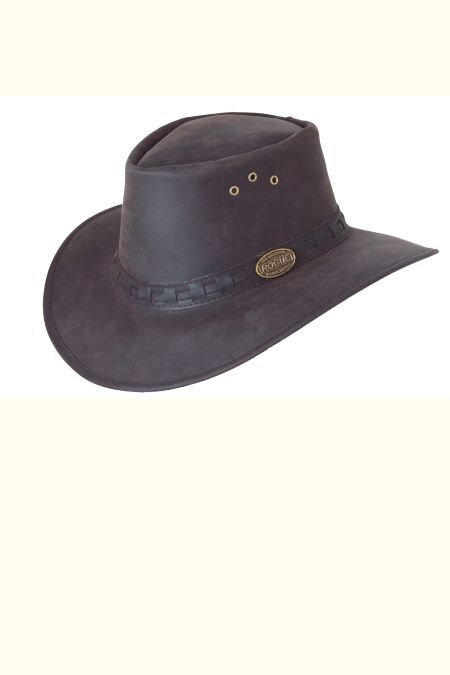 Leather Explorer Hat