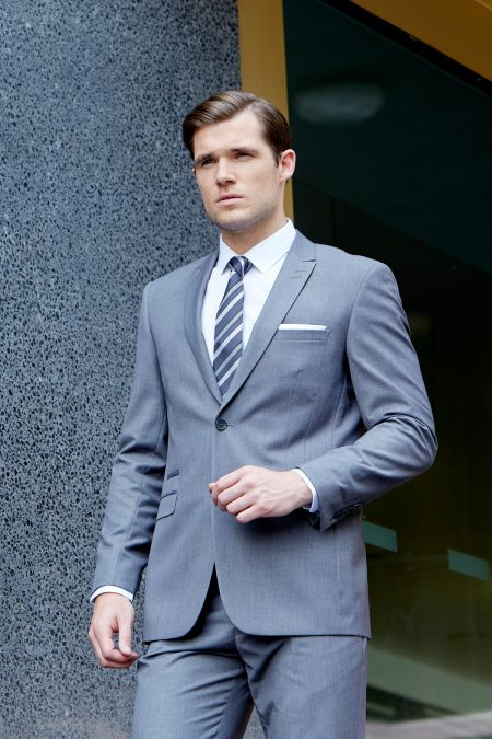Madrid Tailored Suit by Skopes - Plus size mens suits