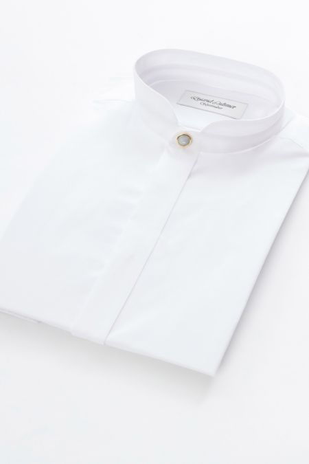Mandarin collar Dress Shirt