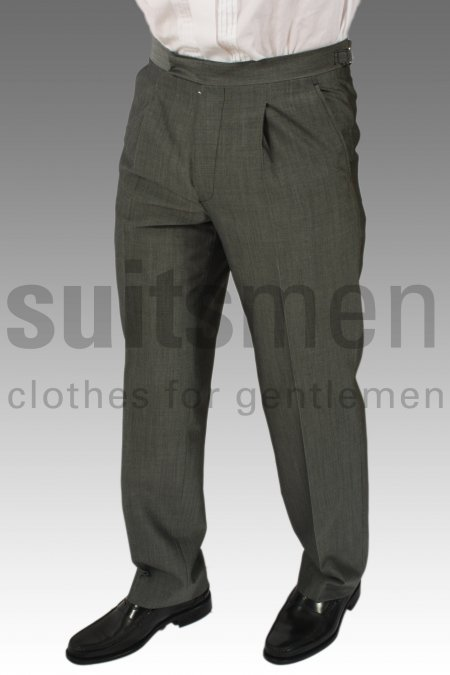 Men's  Mohair Morning Trousers