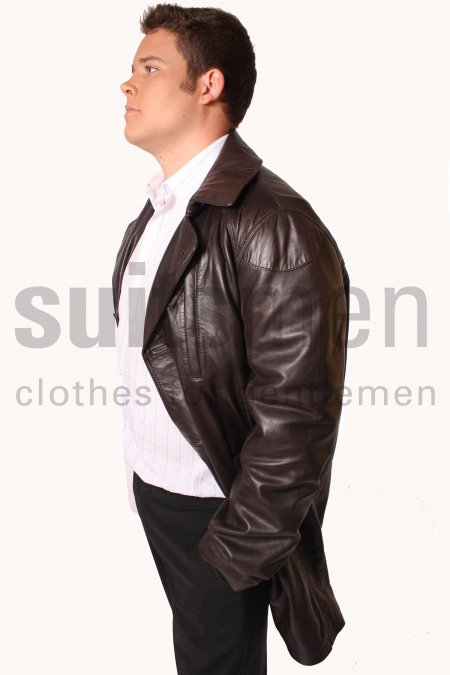 Men's 3/4 Length Coat