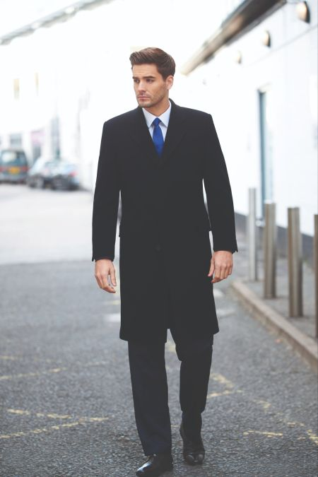 Mens Bond Overcoat