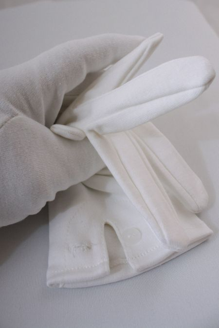 Mens White Dress Gloves