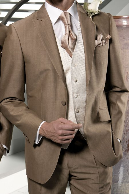 Sandford Boys Mohair Suit from Torre