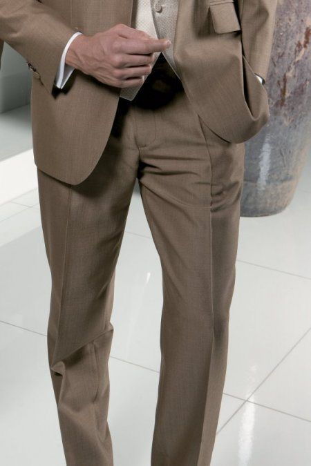 Mohair Sandford Suit Trousers from Torre