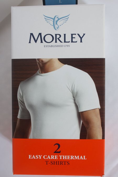 Morley 2 pack Short Sleeved  Wolsey Thermal T Shirt